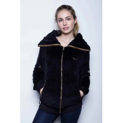 Veste Polaire Grand Col -...