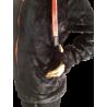 Polaire Capuche Femme Avec Oreilles Marine/Corail